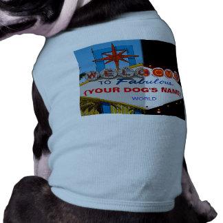 Welcome to Fabulous Your Dog's World! Sleeveless Dog Shirt