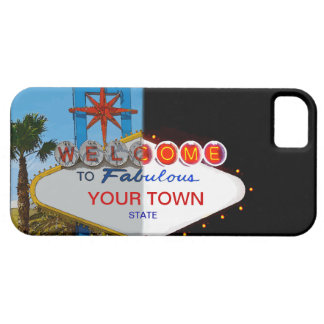 Welcome to Fabulous Your Town! iPhone 5 Covers