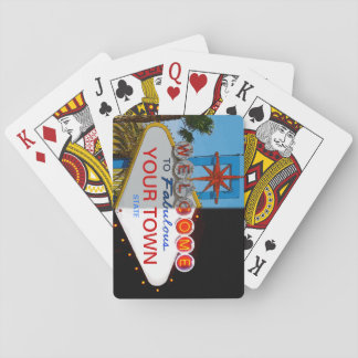 Welcome to Fabulous Your Town! Playing Cards