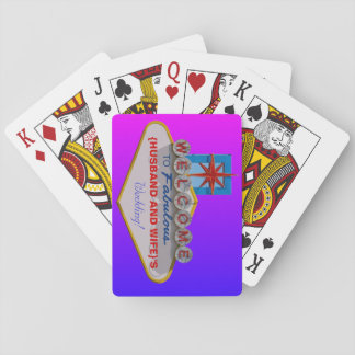 Welcome to Fabulous Your Wedding playing cards