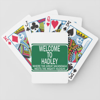 Welcome To Hadley Playing Cards