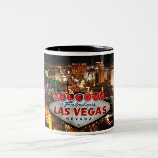Welcome to Las Vegas #2 Two-Tone Coffee Mug
