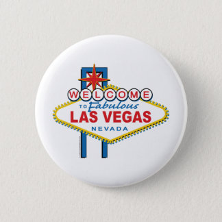 Welcome-to-Las-Vegas 6 Cm Round Badge