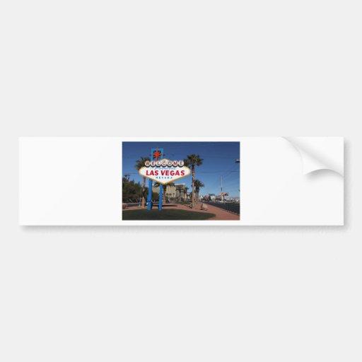 Welcome to Las Vegas Bumper Sticker