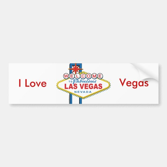 Welcome-to-Las-Vegas Bumper Sticker