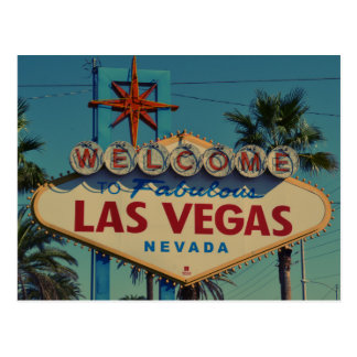 Welcome to Las Vegas card
