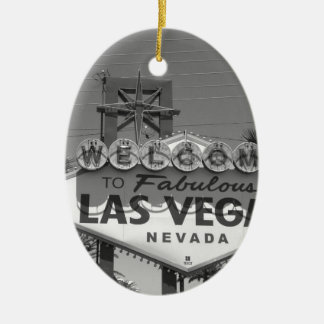 Welcome to Las Vegas Christmas Ornament