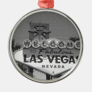 Welcome to Las Vegas Christmas Ornament