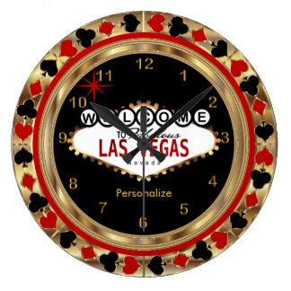 Welcome to Las Vegas! Clock