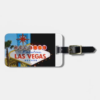 Welcome to Las Vegas - luggage tag