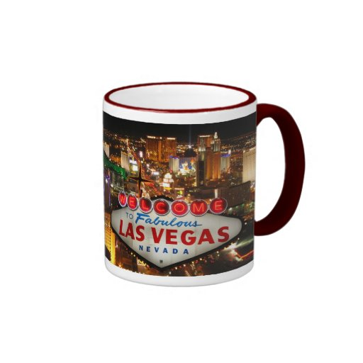 Welcome to Las Vegas Mugs