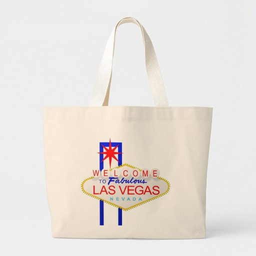 Welcome to Las Vegas Nevada Canvas Tote Bag