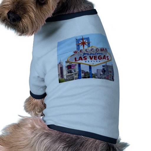 Welcome To Las Vegas Sign Dog Clothing