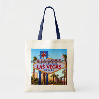 Welcome to Las Vegas Sign Tote Bag