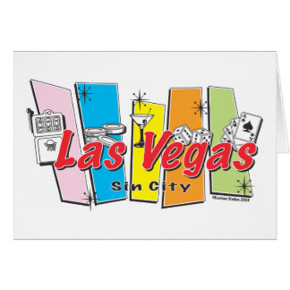 Welcome to Las-Vegas Sin City Card