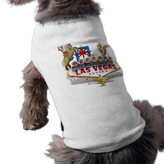Welcome to Las Vegas Sleeveless Dog Shirt