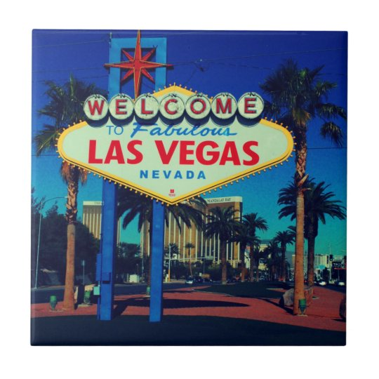 Welcome to Las Vegas Small Square Tile