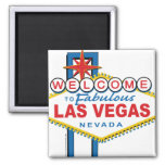 Welcome-to-Las-Vegas Square Magnet