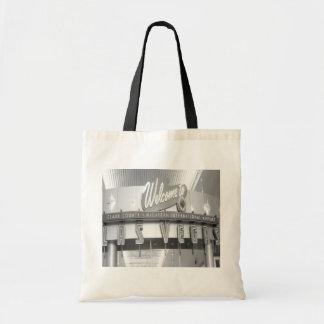 Welcome to Las Vegas Vintage Canvas Bag