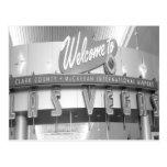 Welcome to Las Vegas Vintage Post Card