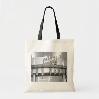 Welcome to Las Vegas Vintage Canvas Bag