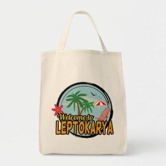 Welcome to Leptokarya Tote Bag