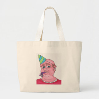 Welcome to middle age. jumbo tote bag
