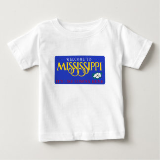 Welcome to Mississippi - USA Road Sign Shirt