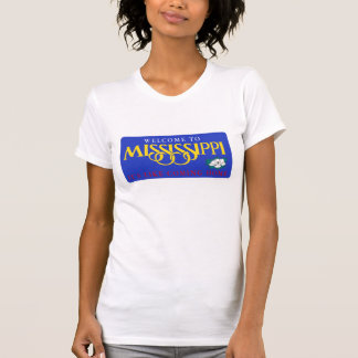 Welcome to Mississippi - USA Road Sign T-shirt