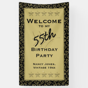 Welcome To My 55th Birthday Party