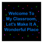 Welcome To My Classroom