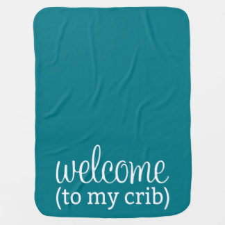 Welcome to my crib baby blanket