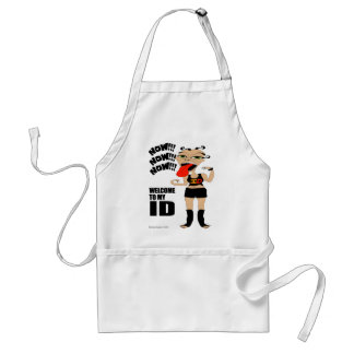 Welcome To My ID Standard Apron