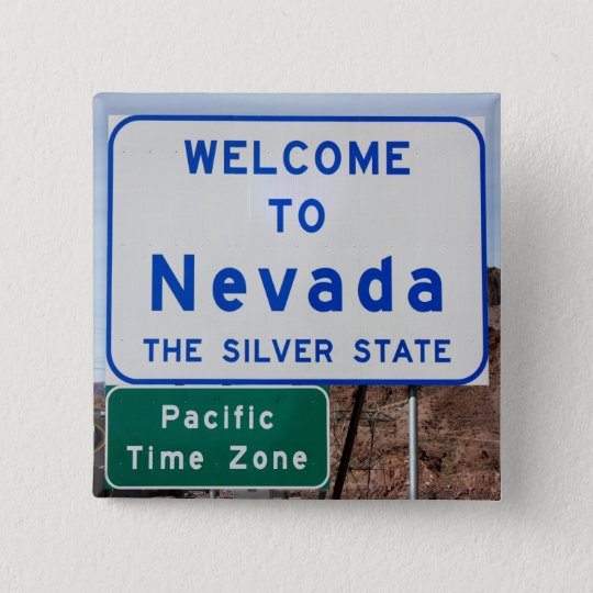 Welcome to Nevada 15 Cm Square Badge
