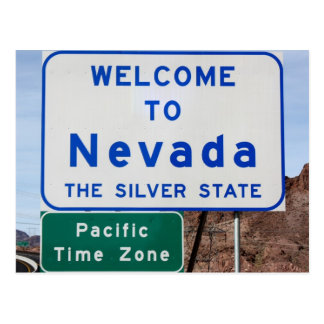 Welcome to Nevada Postcard