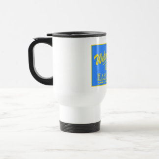 Welcome to New Hampshire - USA Road Sign Coffee Mugs