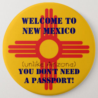 Welcome to New Mexico button