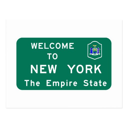 Welcome To New York Postcards Welcome To New York
