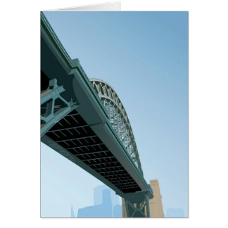 Welcome to Newcastle upon Tyne Greeting Card