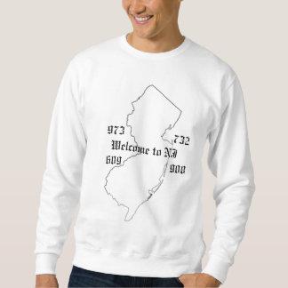 welcome to NJ sweatshirt