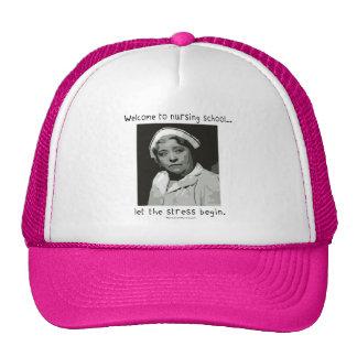 Welcome to Nursing School Mesh Hat