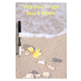 Welcome to Our Beach House Dry Erase Board