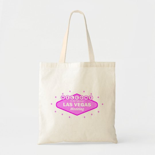 Welcome To Our Fabulous Las Vegas WEDDING Tote Bag