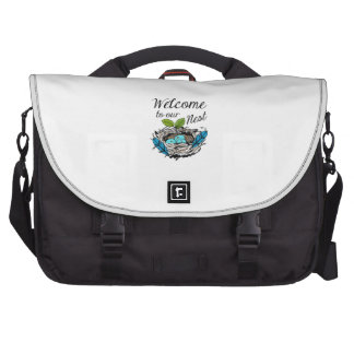 Welcome To Our Nest Laptop Bags