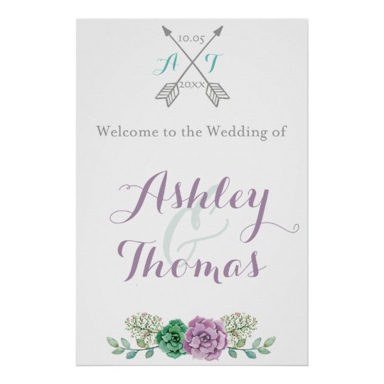 Welcome to our wedding sign | Floral | bothanical