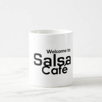 Welcome to Salsa Café Coffee Mug