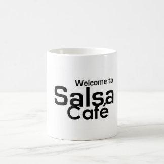Welcome to Salsa Café Coffee Mug