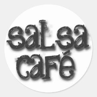 Welcome to Salsa Cafe Round Sticker