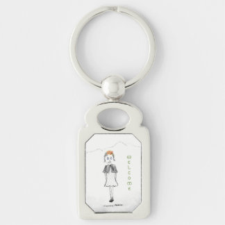 Welcome To Scotland Key Ring