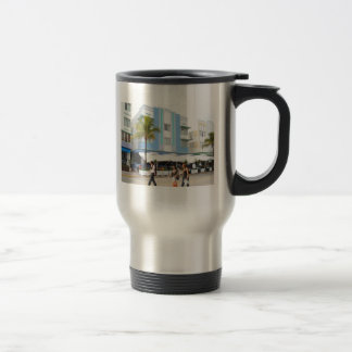 Welcome to South Beach 15 Oz Stainless Steel Travel Mug